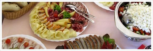Catering - párty, oslavy, posezení